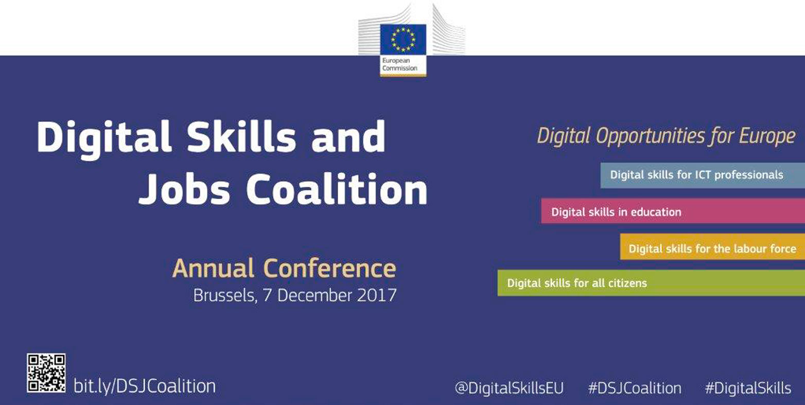Cibervoluntarios Foundation finalist in the European Digital Skills Awards 2017