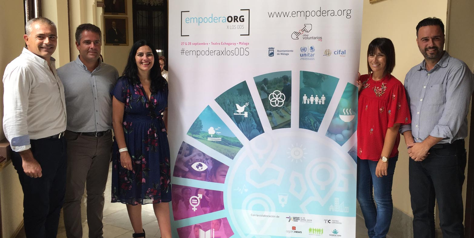 Malaga hosts #Empodera4SDGs, where the objectives of sustainable development will be the protagonists