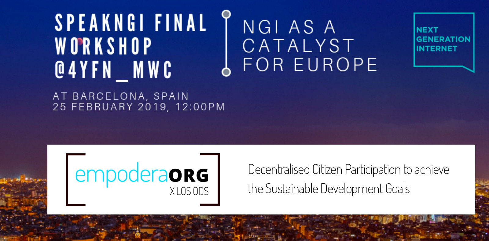 Decentralised Citizen Participation with Empodera.org: Collective Intelligence to achieve the SDGs
