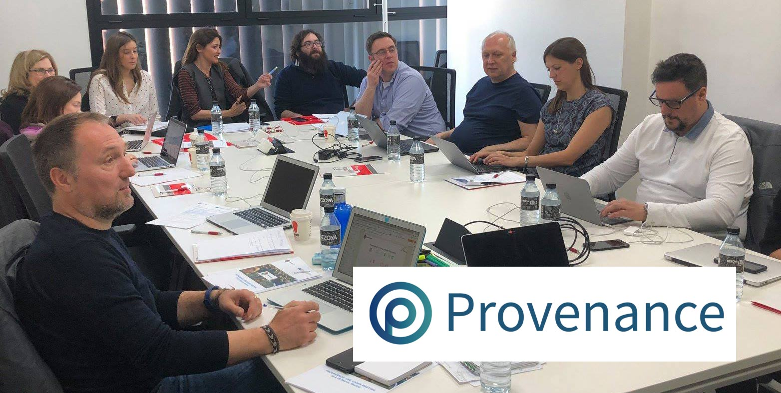 PROVENANCE meeting in Prague: Blockchain and citizen participation to detect fake content on the Internet