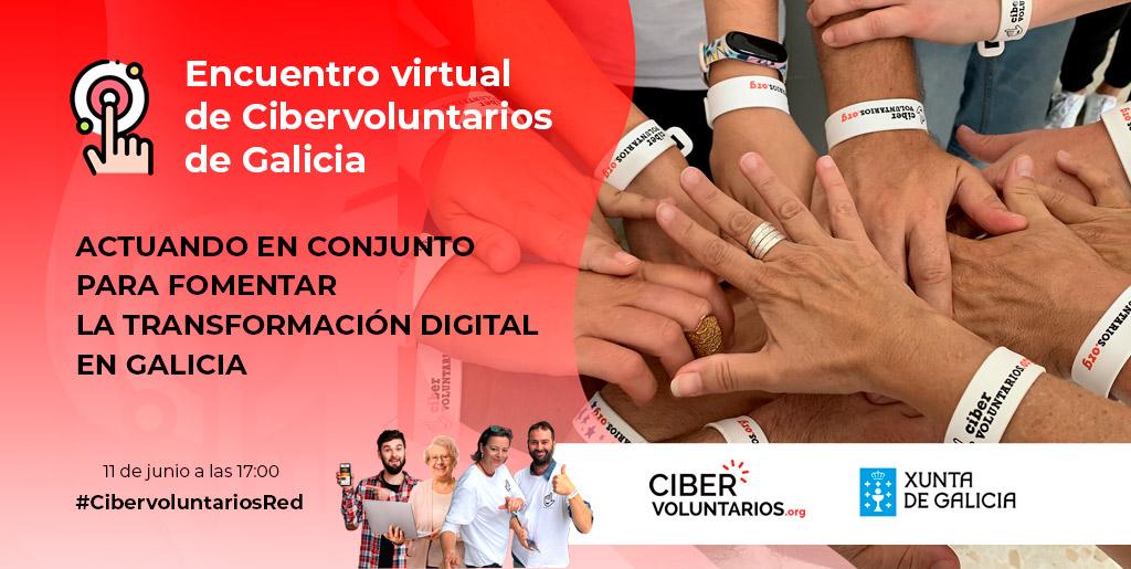 Primer encuentro virtual de Cibervoluntarios de Galicia
