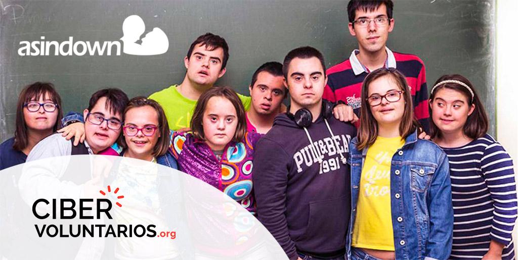 Cibervoluntarios y Fundación Asindown colaboran para mejorar la integración laboral y social