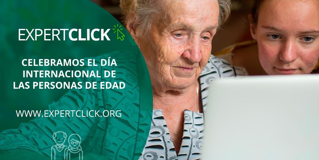 Expertclick celebra el Día Internacional de las Personas de Edad con talleres por toda España