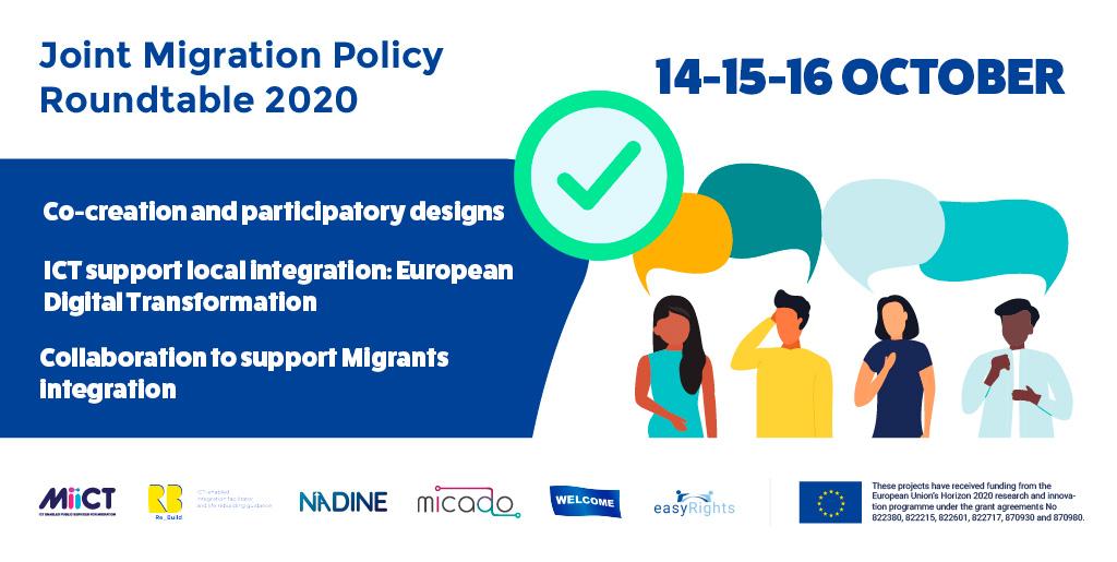 Mesa redonda conjunta sobre políticas migratorias en el programa Horizonte 2020 para Europa