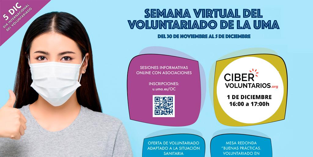 Cibervoluntarios un año más en la Semana del Voluntariado de la Universidad de Málaga