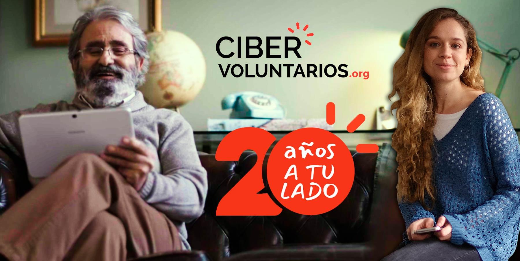 Cibervoluntarios.org cumple 20 años a tu lado