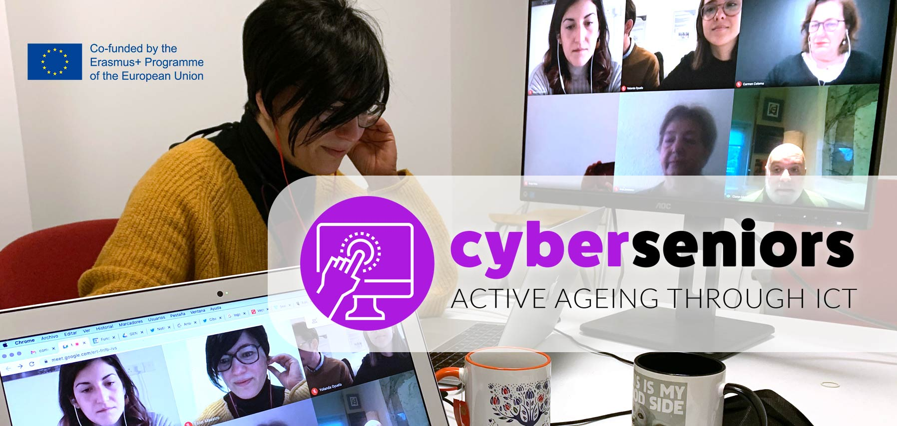 Cyberseniors' kickoff meeting: a program for Active Ageing through ICT