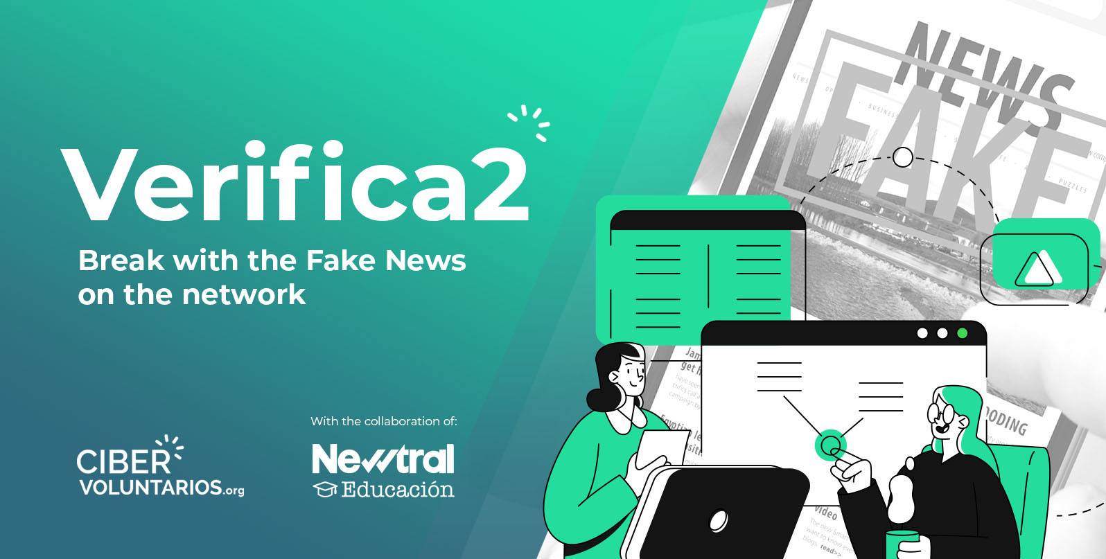 VERIFICA2: workshops against fake news and disinformation in partnership with Newtral