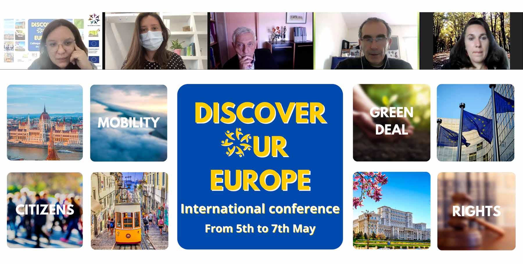 Taller sobre la Iniciativa Ciudadana Europea: Cibervoluntarios aporta su experiencia en el proyecto Discover Our Europe