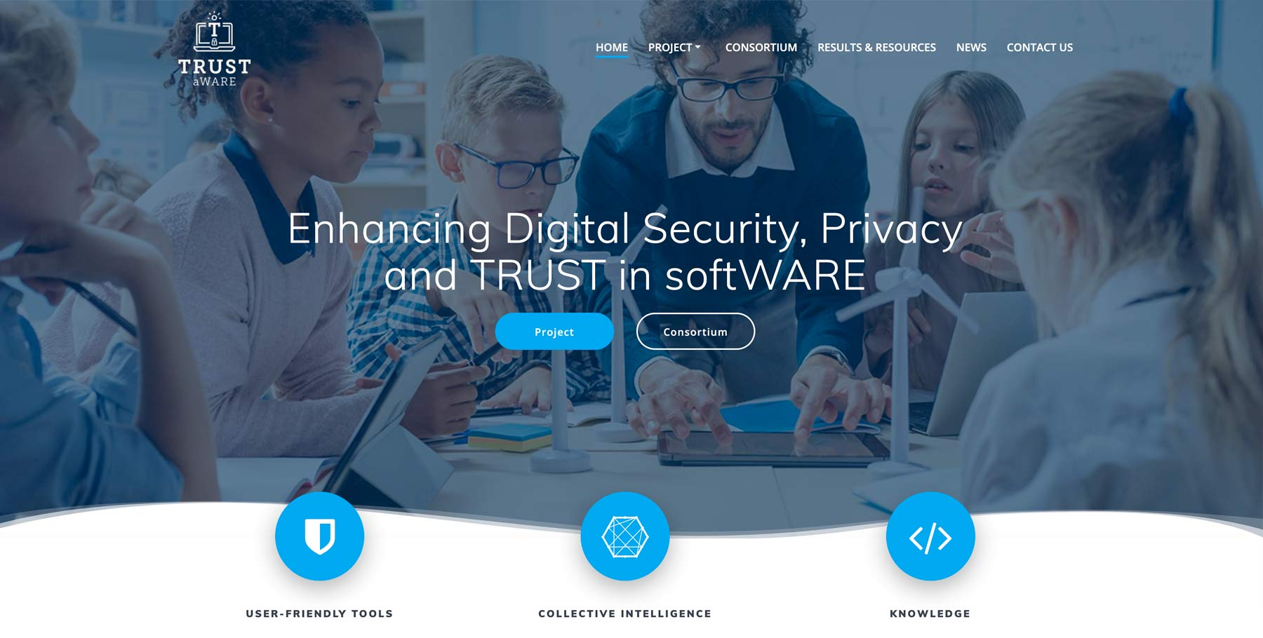 Do you want to get involved in the co-creation of tools to respond to security and privacy threats? Follow the TRUST aWARE proje